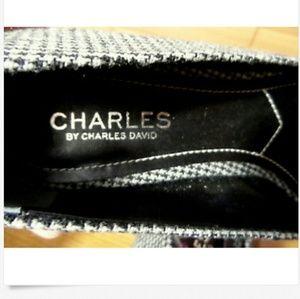 da1753e217e6 Charles David Shoes - CHARLES DAVID Drew 8.5 Kitten Heels Black White
